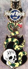 Hard Rock Live ORLANDO 2013 Skull & Snake GUITAR PIN LE 300 - HRC Catalog #71951