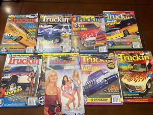 TRUCKIN' Magazine Lot 2002-2004 Sport Truck Mini-Trucking Custom Hot Rod