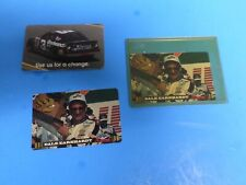 THREE DALE EARNHARDT PHONE CARDS , 1996