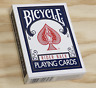 Bicycle Playing Cards Poker (Blue) Deck from Murphy's Magic