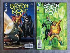 All Star Section 8 1-4 Dc Comics Nm