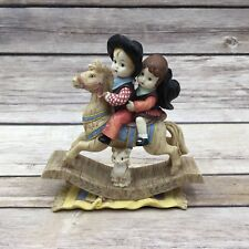 Effanbee Doll Figurine Patsy Ride Em Cowboy Rocking Horse Heart To Heart