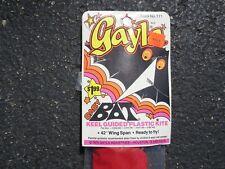 VINTAGE 1975 GAYLA BAT KITE. #111 NOS SEALED.