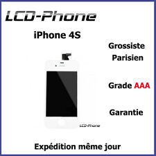 iPhone screen 4S White LCD + Framed Tactile Glass - Grade AAA