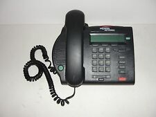 Nortel M3902 PBX Charcoal / Black Display Phone