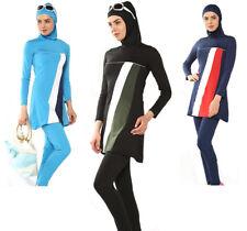 Plus Size Muslim Swimwear Modesty Islamic Women Beach Swim Bath Swimsuit Burkini