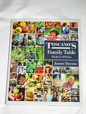 TOSCANO'S FAMILY TABLE : RECIPES AND WRITINGS - NOW SCARCE