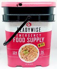 Readywise Ready Wise Emergency Food Supply 124 Servings +4bon 25 Year Shelf Life