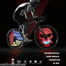 XuanWheel X1 Colorful Bicycle Wheel Spoke Light with 192pcs RGB LED App Control