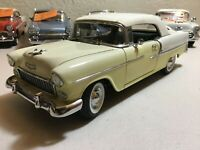Danbury Mint 1955 Chevrolet Bel Air Convertible (No Box, Paint Fade)