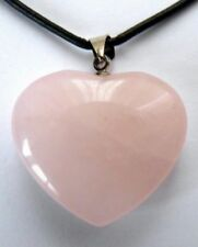 Rose Quartz Silver Plated Costume Pendants