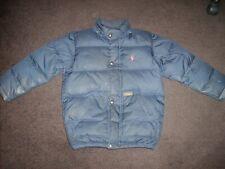 Boy's navy blue Polo by Ralph Lauren puffer / ski jacket size 6, detachable hood