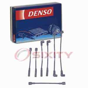 Denso Spark Plug Wire Set for 1987-1990 Jeep Wrangler 4.2L L6 Ignition Plugs ls