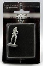 Dark Sword DSM-7307 Female Assassin (No Cloak) Rogue Thief Adventurer Hero NIB