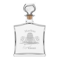 Edle Whiskyflasche inkl. Gravur  Whiskyfass