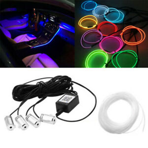 12V Car Headliner Star Light kit Roof Ceiling Lights Fiber Optic APP Control 5M