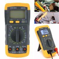 A830L Digital LCD Multimeter Voltmeter DC AC Amperemeter Messgerät Tester