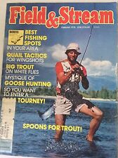 Field & Stream Magazine Quail Tactics And Spoons Trout February 1978 043017nonrh