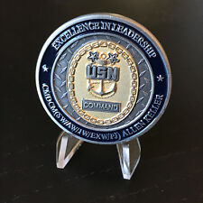 Joint Base Pearl Harbor Hickam Command Master Chief Allen Keller Challenge Coin
