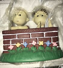 1994 Charlie Brown and Linus Figurine The Danbury Mint New in Box