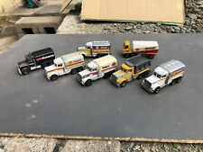Matchbox Convoy Trucks Job Lot Of Tankers Peterbilt Shell Amoco Tipper Etc