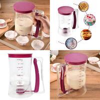 Cupcakes Muffin Pancake Dispenser Per Pastella Crepe Baking Tool 900mL 4 Tazze