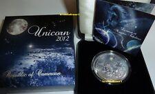 Unicornio Unicorn 2012 camerún 1.000 francos CFA .999 plata Opal * * max. 888 ex.