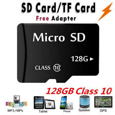 HOT 128GB Micro SD Memory Card Flash TF Class10 SDXC SDHC Card + Free Adapter