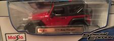 1/18 Jeep Wrangler Willy's American Off Road 4x4 1:18