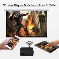 4K WiFi Android6.0 LED Proiettore Home Cinema AV/SD/USB/HDMI per Smartphone DVD