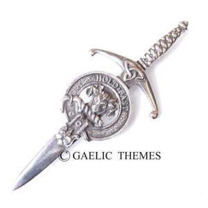 Macleod Clan Crest Kilt Pin