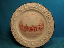 "Vtg 1950's  9 -1/4"" Shadyside Methodist Church B'ham Al HOMER LAUGHLIN Plate"