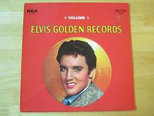 Elvis Presley LP: Elvis' Golden Records, RCA, Germany, LSP-1707 orange label