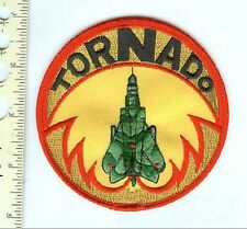 Military  Patch  British Tornado Swept Wing Fighter Jet
