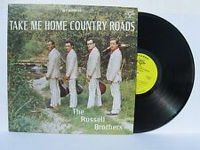 The Russell brothers take me home country Roads vinyl LP rare country bluegrass