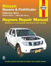 Nissan Navara D40 & Pathfinder R51 2005-2013 NEW Haynes Manual Petrol & Diesel