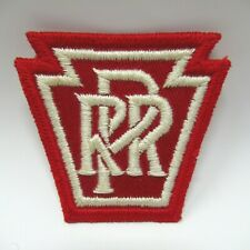 Vintage Patch - Pennsylvania Railroad - Embroidered PRR Keystone Emblem - Train