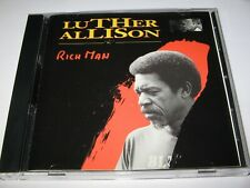 RICH MAN by LUTHER ALLISON (1995)  9 Tracks   Trip Records CD      CHICAGO BLUES