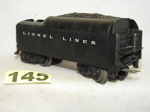 LIONEL O GAUGE COAL TENDER IN EXCELLENT READY TO RUN CONDITION