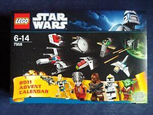Lego Star Wars Adventskalender 7958 Neu OVP Ungeöffnet