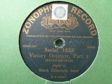Banda De Diamantes Negros-Disco de la victoria obertura 78 Rpm