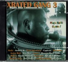 Xrated Gang 3 Mighty Mike Continuos Mix   BRAND  NEW SEALED CD