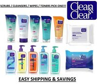 Clean and Clear Skin Care Products Cleansers Scrubs Face Wash + EASY SHIPPING