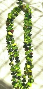 SOBRAL green mix necklace - 24 inches long