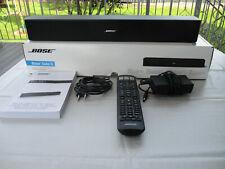 Bose Solo 5 Soundbar TV Soundsystem Lautsprecher Schwarz Bluetooth Fernbedienung