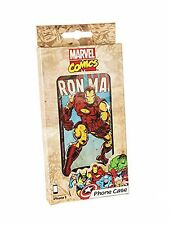"Genuine marvel comics close up ""iron man"" iPhone 5/5s cover case coffret cadeau"