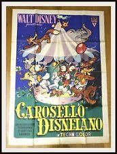 CAROSELLO DISNEIANO - 4 F - Paperino Qui Quo Qua Pluto - 1955 RKO - DISNEYANA.IT