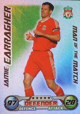 Liverpool Football Trading Cards Topps 2008-2009 Season