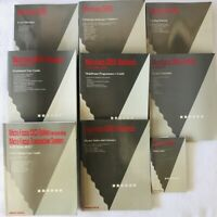 Micro Focus COBOL Lot of 9 Books User Guides Programmers Guides Index Reference