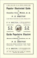 2018 Edition - 1912 Breton Reprint with Prices for Canadian Tokens